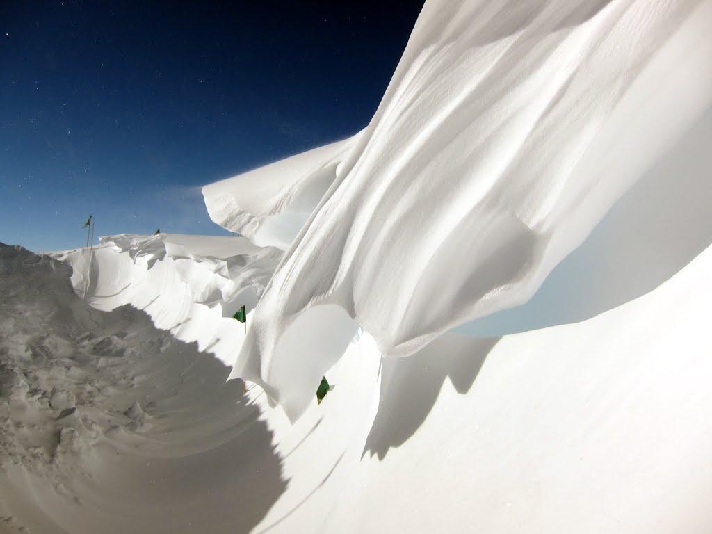 Antarctic Snow Drift