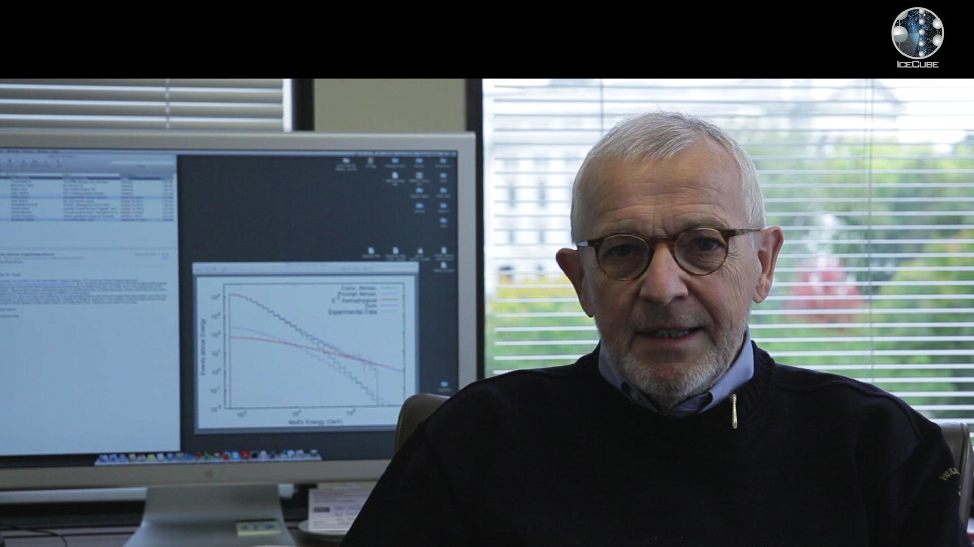 Francis Halzen, IceCube Principal Investigator, On future research in IceCube about cosmic neutrinos