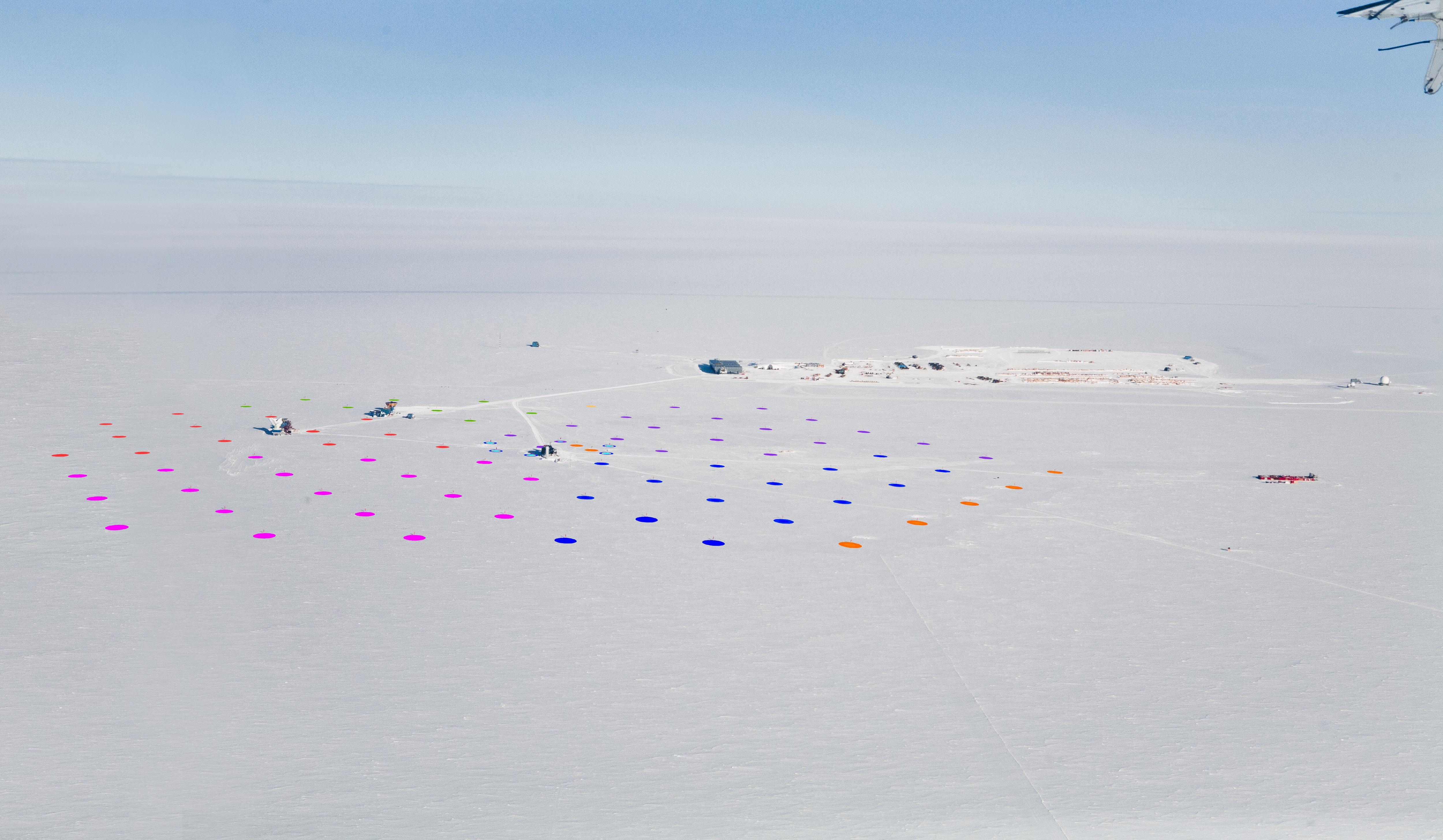 IceCube Strings by Season