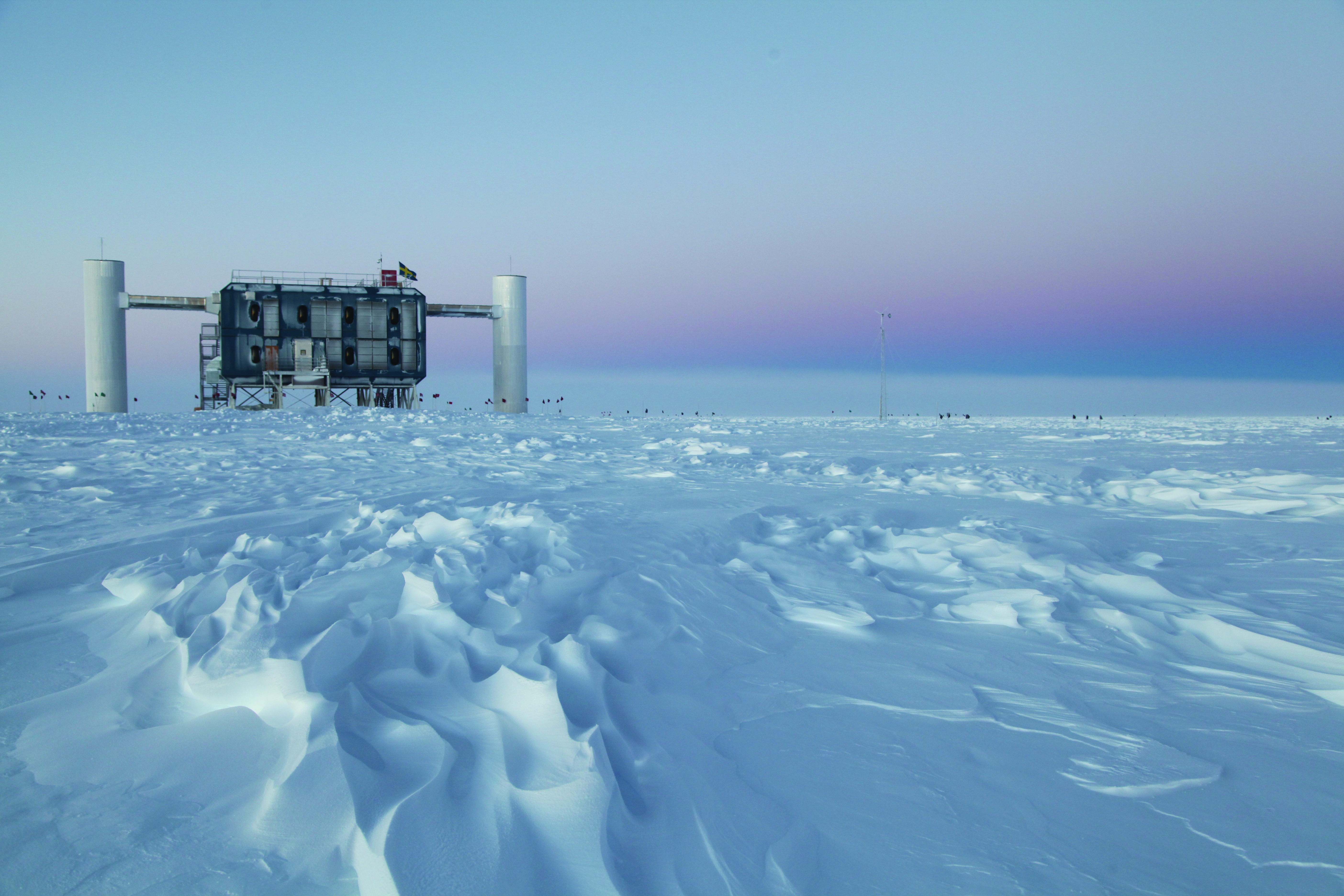The IceCube Lab in March 2012
