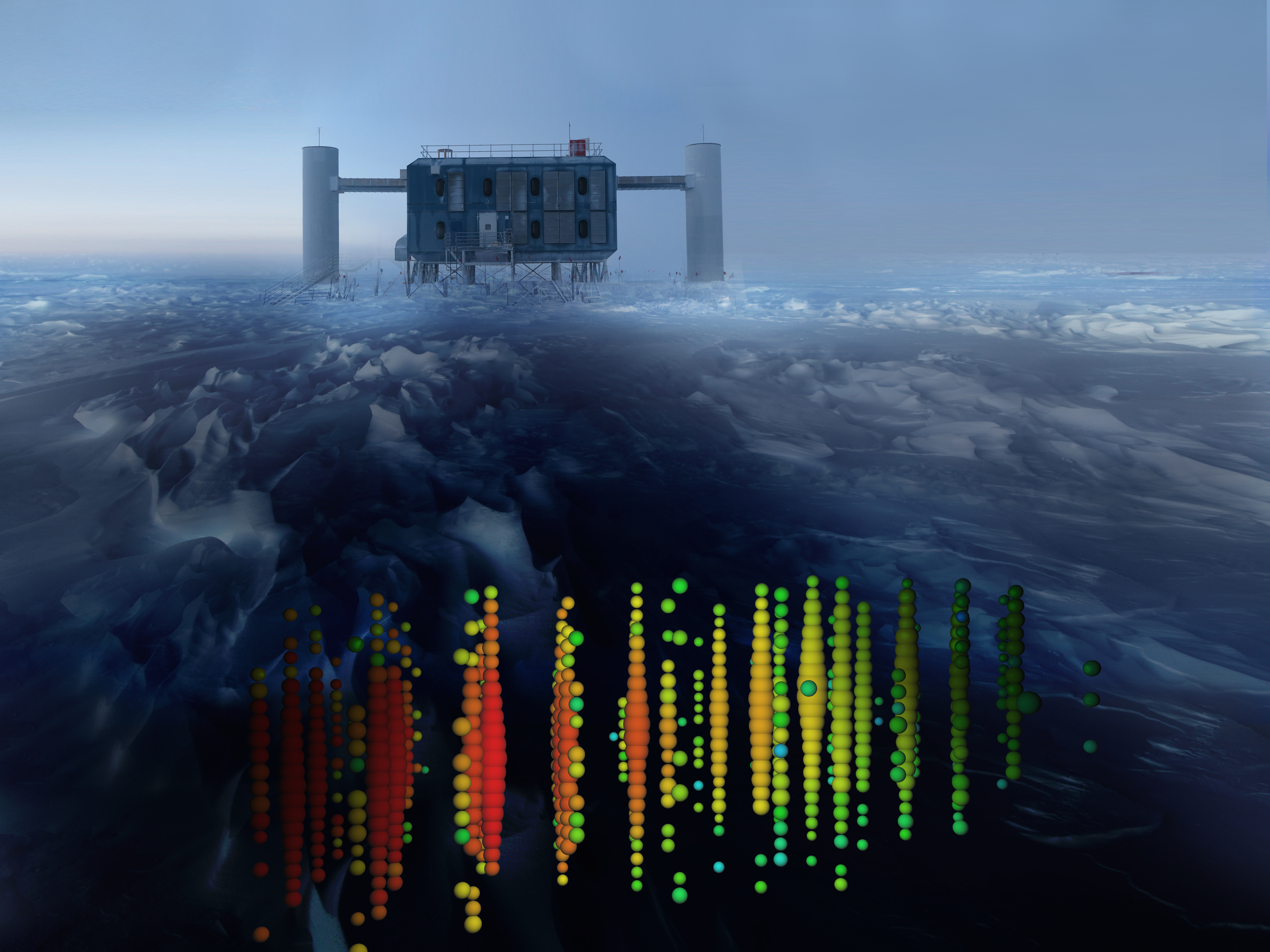 The ICL and a high-energy muon neutrino (day)