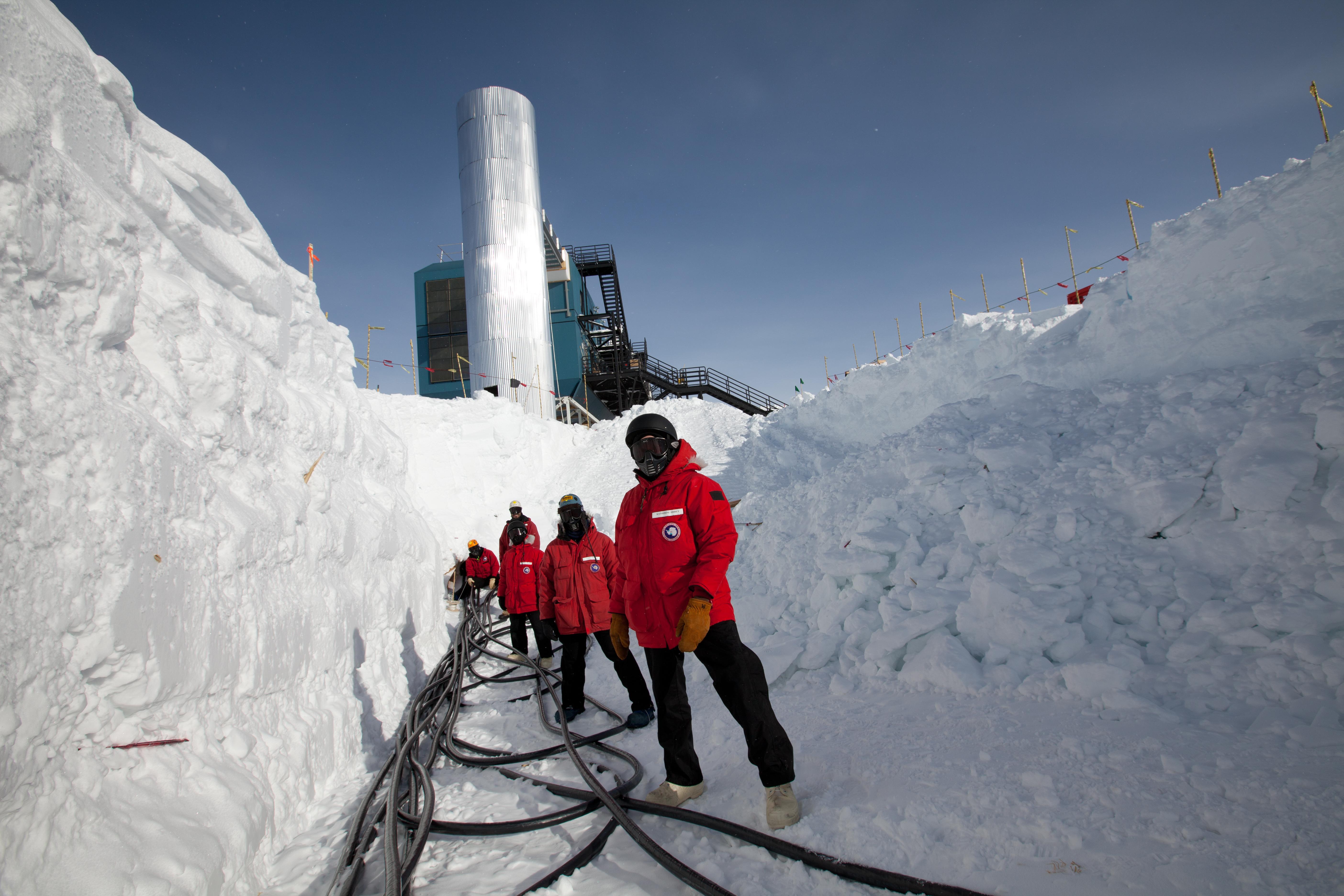 Deployment of IceCube