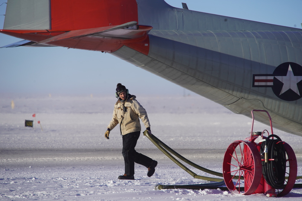 Working at the South Pole